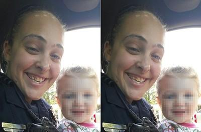 女警偷情長官 3歲女兒鎖車上熱死