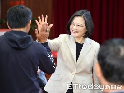 蔡英文:向世界證明台灣 只有我做得到