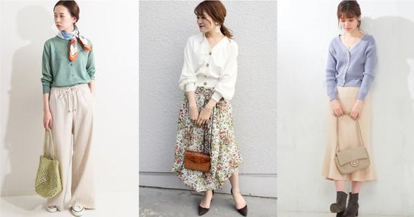 春天印象就交给「针织外套」 今年正热门的米白色清爽零失误