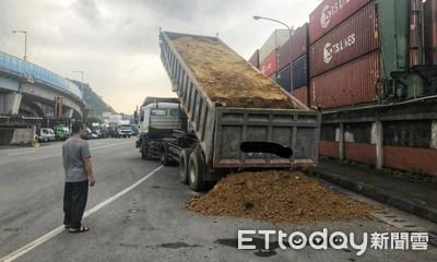 砂石車「超載18噸」!遭重罰8萬8