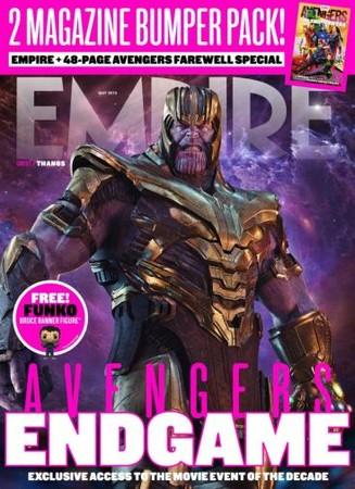▲▼《復仇者聯盟4》登上《帝國雜誌》封面。(圖/翻攝自《帝國雜誌》)