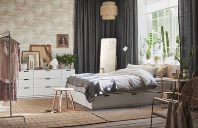 IKEA雙人獨立筒床墊不到9千元