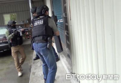 全國警察動員18天 掃出127把槍