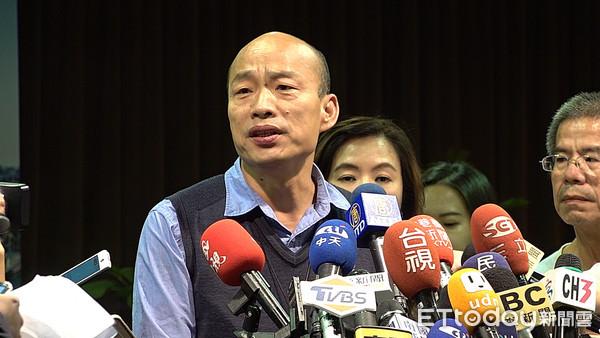 民進黨癒合力像妖怪 韓國瑜:腦袋砍掉第二天就長出來
