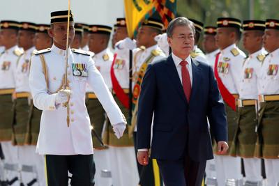 糗!文在寅問候大馬總理竟用印尼語