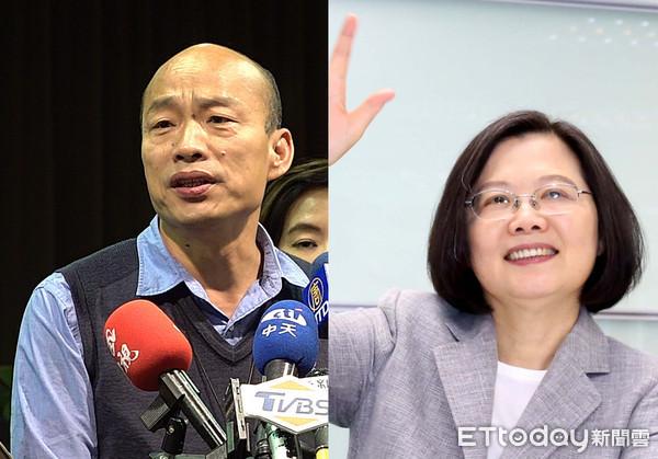 韓國瑜8字回應「蔡英文總統三條件」:台灣安全、人民有錢…這就夠了