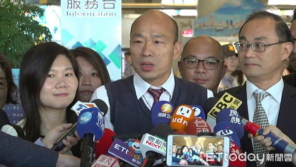 韓國瑜嗆民進黨像妖怪 蘇貞昌:比較像金剛狼、妖怪手錶