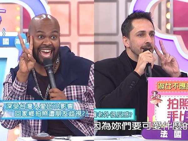 台灣人拍照才比YA? 杜力返美合照「被朋友歧視」