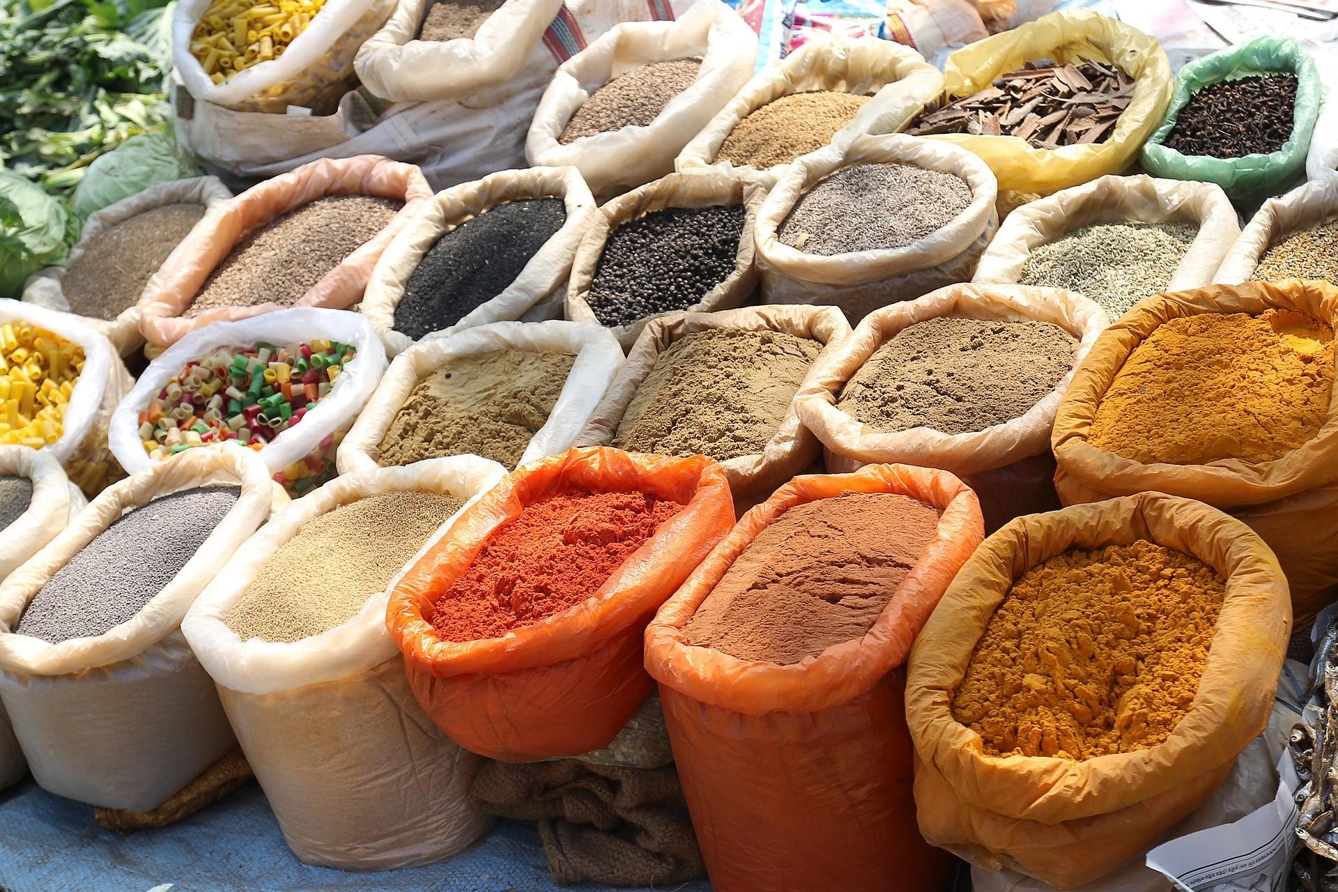 ▲印度香料,印度,印度料理,咖哩,印度文化。(圖/取自免費圖庫Pixabay)