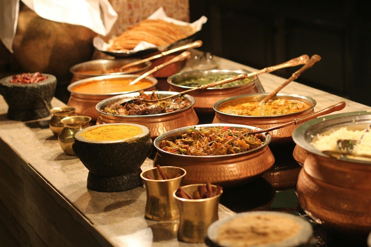 ▲印度料理,咖哩,印度,印度文化。(圖/取自免費圖庫Pixabay)