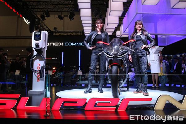 光陽進攻電動車充電站市場!Noodoe EV OS東京機車展首發