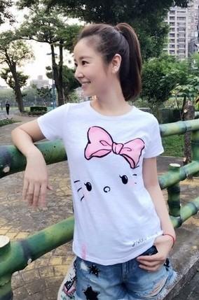 ▲林心如本身就是個Hello Kitty控。(圖/翻攝自林心如臉書)