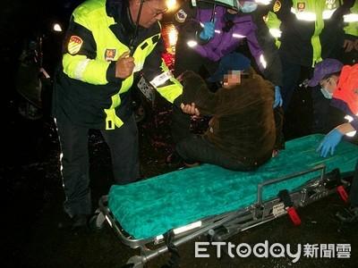 桃園翁騎錯路自摔遭車壓 警40分鐘找到人