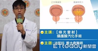 雷射攝護腺汽化手術  排尿不用再吃藥