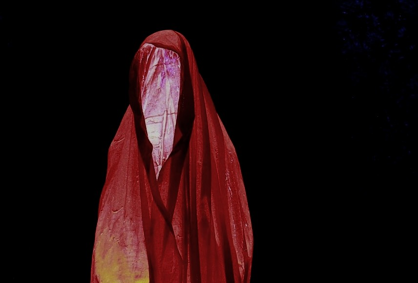 ▲鬼,紅衣小女孩,幽靈,驚悚 。(圖/取自免費圖庫Pixabay)