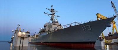 美國海軍配備激光武器系統
