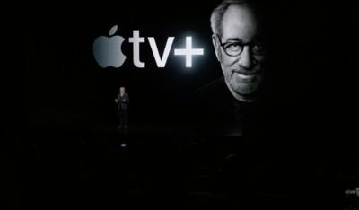 史匹柏站台Apple tv+ 全媒體鼓掌