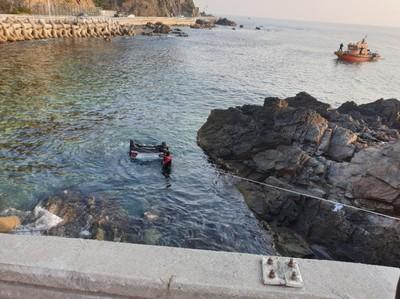 南韓轎車墜海 5大一新生喪命