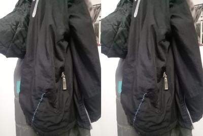 他外套穿10年裂開…老母縫好 同事:乞丐?