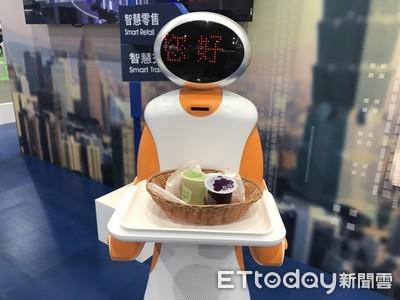 東元新一代「服務型機器人」將前進澳洲