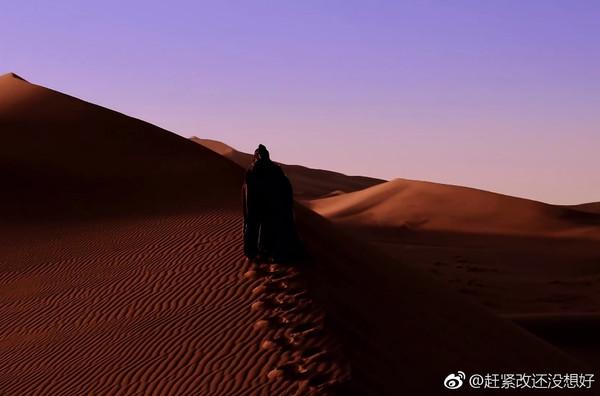 ▲李承鄞孤獨終老,不信小楓已經離世,最後踏上西州尋妻之路。(圖/翻攝自微博)