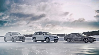 BMW iX3、i4與iNext測試照曝光