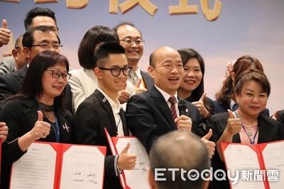 韓國瑜恐遭罰50萬 謝龍介:他多50萬票
