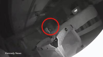 1歲女兒臉頰被抓 媽驚見白色人影