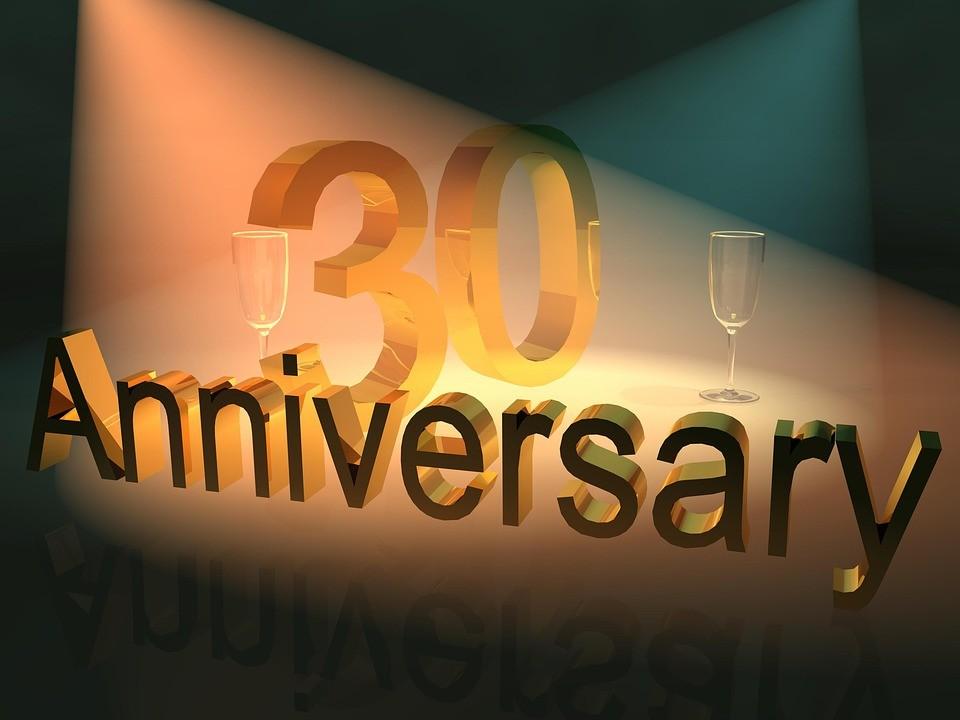 ▲▼30歲,30周年。(圖/免費圖庫Pixabay)
