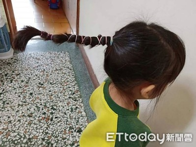 5歲女兒「公公辮」釣出大票妹子