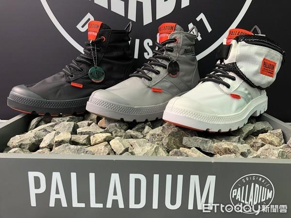 法国军靴品牌Palladium 推出全新撞色防水靴