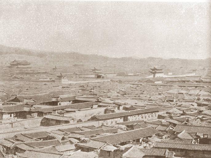 ▲▼1894年的漢城府(圖/翻攝自維基百科)
