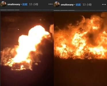 烏克蘭加油站7連爆 火竄8樓高