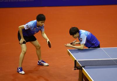 中國桌賽大陸混雙丁東組合爆冷敗