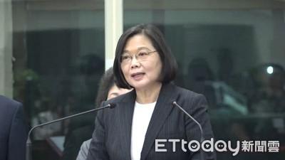 蔡英文:我當總統 台灣主權絕對守得住