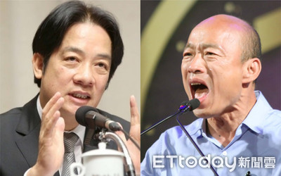 「韓國瑜很強」 賴清德:總統大選誰贏誰帶領台灣