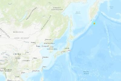 俄羅斯千島群島外海發生6.1強震