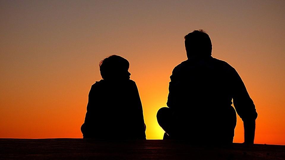 ▲▼父子,親情,單親,家庭。(圖/取自免費圖庫Pixabay)