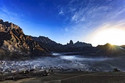 中國甘肅、四川露天美景看不完