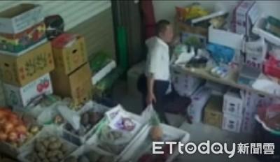 辛苦顧菜攤 竊賊男摸走賣菜母女8千