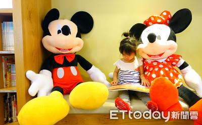 兒童閱覽室變身Disney