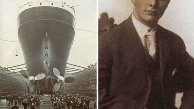 憑禮服認出「腐屍是頭等艙貴族」 鐵達尼號最後一艘救生艇影像曝光