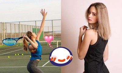 網球界妙麗!14歲少女美炸 表特板0負評