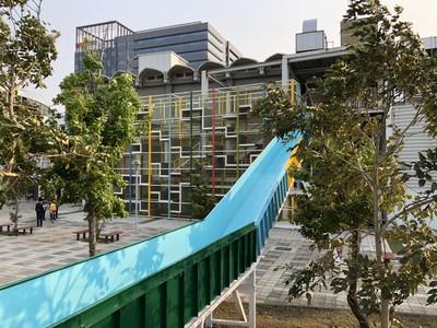 3樓高溜滑梯兒童連假限定玩樂點
