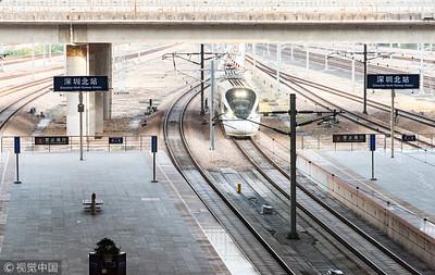 深圳將有13條鐵路 1hr玩轉珠三角