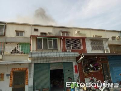 台南仁德區民宅火警 搶救及時未延燒鄰宅