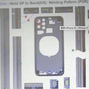 「iPhone XI」背面機殼設計圖版曝光