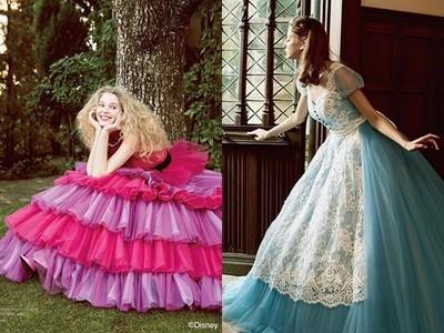 穿「愛麗絲夢遊仙境」婚紗好想嫁