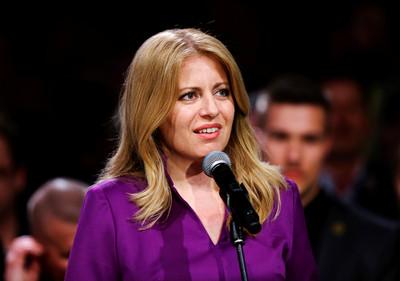 反貪政治素人當選斯洛伐克首位女總統