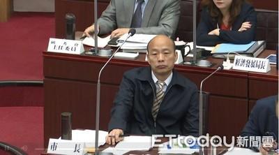 踏進中聯辦遭轟「賣台」 韓國瑜回應了